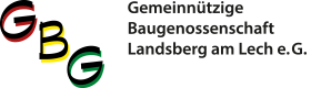 Gemeinnützige Baugenossenschaft GBG Landsberg am Lech e. G. Logo